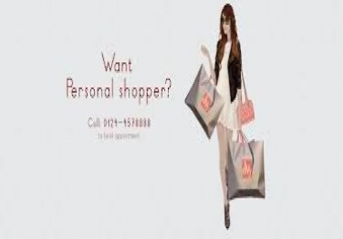 I need Personal Shopper List who shop everything worldwide