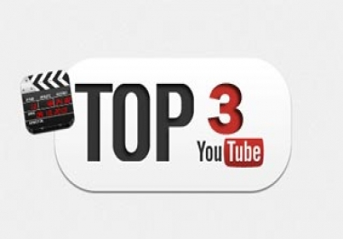 I need to get my video in the first page. Top 3 - Top 5.