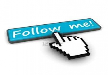 Follow me and i wil follow you too