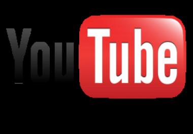 need 5,000 youtube views