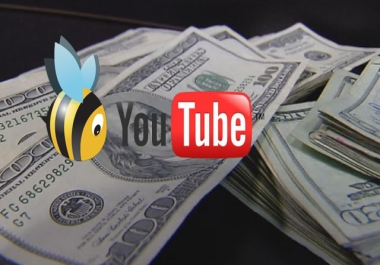 Need up to 1 million youtube views and valid click on adfly link in video description