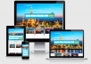 Travel agency website, hotels, flight, affiliates with Free Host