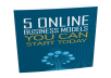 5 Online Business Models You Can Start Today eBook with MRR