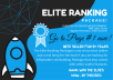 Elite Ranking Pack - US Advertisement, 3000 Social Signals, 50 PBN Backlinks, 25 Shoutout, Promotion