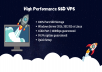 High Performance Windows or Linux SSD VPS