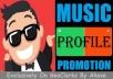 Start Instant Music Site Profile Followers