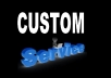 custom service - special offers - Contact with us before orders