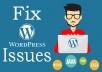 Fix Any Wordpress Website Issues Fast