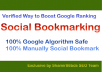Verified 40 Authority Social Bookmarking to Boost Google Ranking