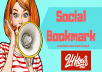 Manually Top 30 High Authority Social Bookmarking