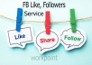 1000 Social Media Likes Real and Active service
