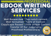 I Will Research and Ghostwrite Your Ebook On Any Topic +FREE ECOVER