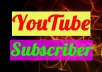 Guarantee 1000 YouTube Sub Promotion with Natural Way