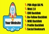 Guarantee TOP OF GOOGLE with SuperStrong RANKING BOOSTER BACKLINK Package