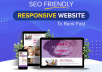 Create SEO Friendly Responsive Website to Rank Fast
