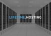 Provide Lifetime.Hosting Account