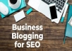 write you an SEO blog post that pulls the reader in