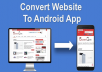Convert WebsiteTo Android App With Push Notification