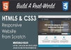 I will design a full website or web apps with HTML, CSS and Javascript