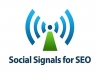 850+ High Quality Social Signals Backlink For SEO
