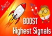1,000 PR10 Social Signals Backlinks / Bookmark / From USA Help For Google First Page Ranking
