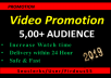 Get Youtube Promotion on your Video vio