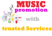 Music Promotion of your track over the world with trusted services