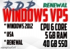 VPS RDP Windows 6 Core CPU 5 GB RAM 40 GB SSD FOR SEO TOOLS