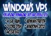 Vps Windows Cpu 2 Core 4 Gb Ram 40 Gb ssd rdp