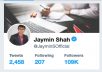 JayminSOfficial Sponsored Tweet