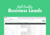 UNLIMITED High Quality Business Leads ????