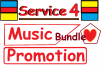 Service 4 music promotion you will get within 24 hours