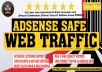 Click Me- Drive targeted Adsense Safe Real Webtraffic, daily visitors for One Month