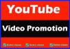 Promotion YouTube on social media marketing