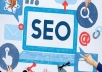 SEO webhosting package one year 5000mb space unlimited traffic