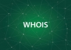 World Wide Domain Whois Database for 30 Days
