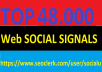 TOP 48,000 SOCIAL SIGNALS With NUCLEAR SEO