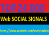TOP 24,000 SOCIAL SIGNALS With NUCLEAR SEO