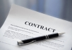 I will give you a package of Music Business contracts