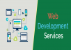 WEBSITE DEVELOPMENT - PHP/HTML/CSS/JS/SQL