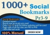 """I will"" help you to govern search engines by 100 social bookmaking backlinks"