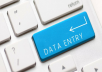 English and sinhala Data Entry Service