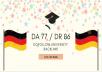 I Will Get You A Dofollow University Backlink Da77 Dr86