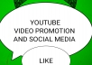 Get you video promotion and research