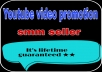 Real youtube video promotion social network and marketing