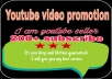 HQ youtube video promotion and social media marketing