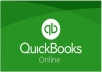 Data entry on quickbooks online offline and excel