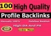I Will Manually Create 100 Pr9 To Pr6 Authority Profile Backlinks