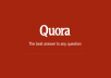 promote your website and build 5 quora backlinks for