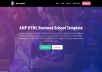 Make Responsive & user friendly website template